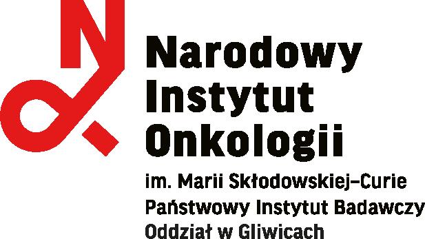 logo narodowego instytutu onkologii w gliwicach